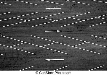 場所, 駐車