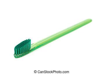 塑料, 牙刷, 被隔离