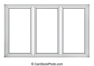 塑料, 窗子框架