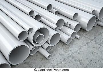 塑料, 管子