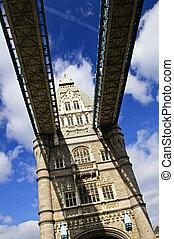 塔桥梁, 在中, 伦敦