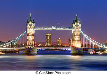 塔橋梁, 在, 倫敦, 英國