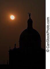 塔, 教堂, 夜晚