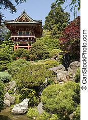 塔, 日本の庭