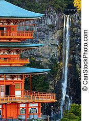 塔, 滝, 日本語