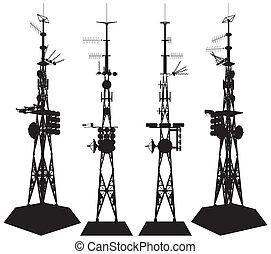 塔, 電訊