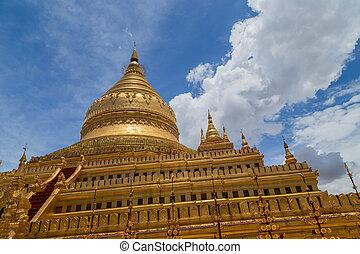 塔, shwedagon