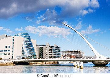 塞缪尔, beckett, 架桥, 在中, 都柏林, 爱尔兰