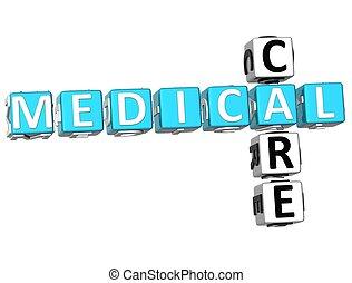 填字游戲, 醫治