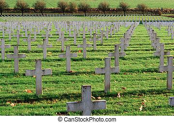 墓地, フランス語, 1, 世界, 兵士, targette, 戦争