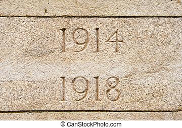 墓地, 戦争, 1918, フランダース, ベルギー, 世界, 1914