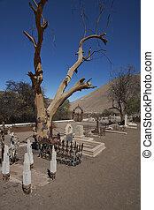 墓地, 砂漠, atacama
