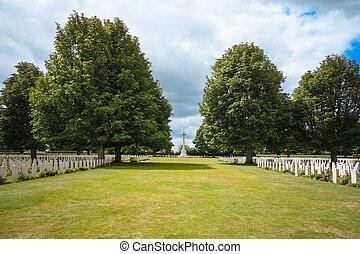 墓地, omaha, 9:, 戦争, 9, ノルマンディー, アメリカ人, france.-, 2013., ...