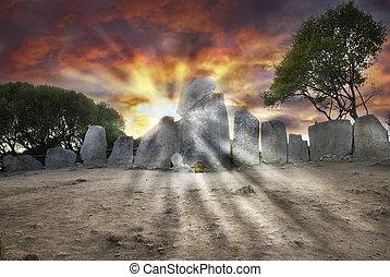 墓, gigants