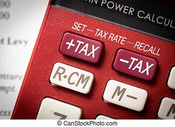 増加, 税