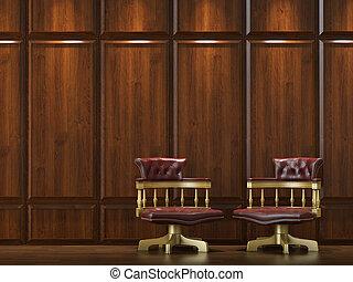 墙壁, 椅子, cladding