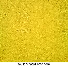 墙壁, 黄色的背景