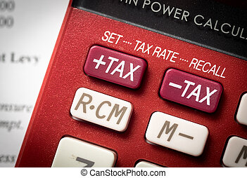 增加, 稅