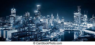 墨爾本, 城市