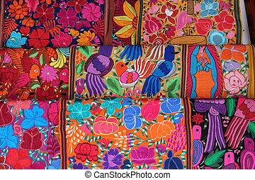 墨西哥人, 刺繡