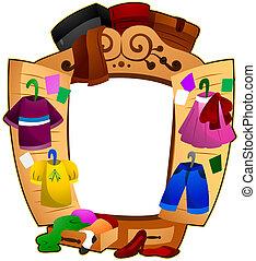 壁櫥, 框架