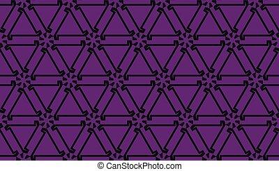 壁紙, ファッション, 2., illustration., 色, seamless, color., 1, 紫色, ベクトル, 背景, あなた, 内部, 家, 中毒, style., オリジナル, 三角形, print.