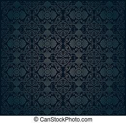 壁紙, 黒