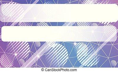壁紙, page., 三角形, スクラップブック, 背景, スペース, テキスト, 抽象的, 現代, 線, 幾何学的, ベクトル, テンプレート, 装飾, 内部, 円, デザイン, 要素, illustration.