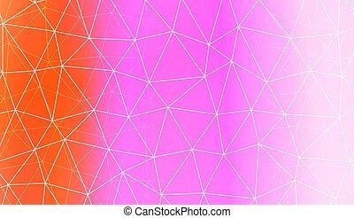 壁紙, page., 要素, スクラップブック, 背景, 勾配, パターン, 抽象的, 現代, 幾何学的, polygonal, ベクトル, テンプレート, 装飾, 内部, color., デザイン, 三角形, illustration.