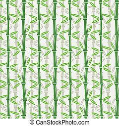 壁紙, seamless, 竹