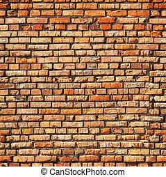 壁, れんが, seamless, 手ざわり
