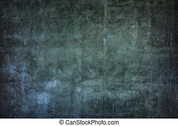 壁, グランジ, セメント, 手ざわり