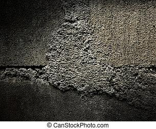 壁, グランジ, 手ざわり, 背景