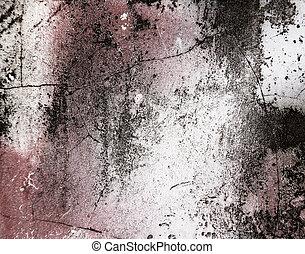 壁, グランジ, 背景, 手ざわり