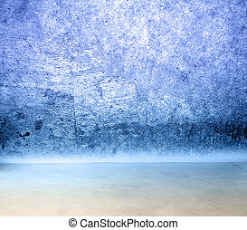 壁, コンクリートの床