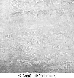 壁, コンクリート, 手ざわり