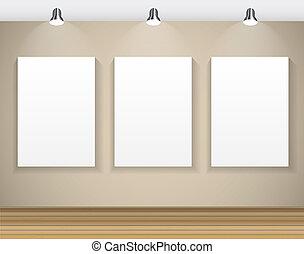 壁, テキスト, フレーム, イラスト, イメージ, ベクトル, あなたの