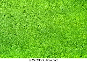 壁, バックグラウンド。, 緑