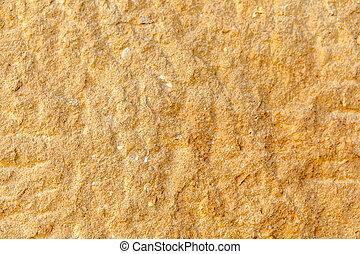 壁, ブラウン, わずかしか, 手ざわり, 岩