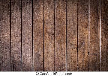 壁, ブラウン, 木, 板, 背景
