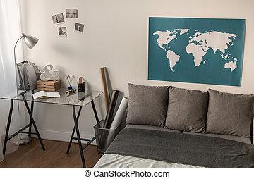 壁, 世界地図