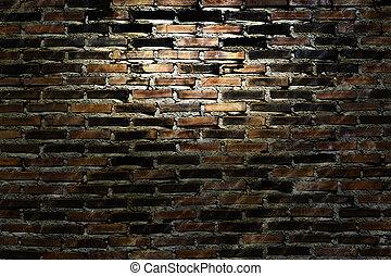 壁, 古い, グランジ