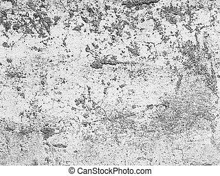 壁, 古い, グランジ, セメント, 背景