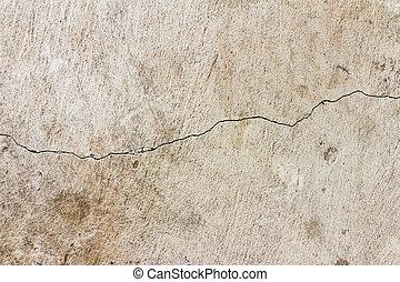 壁, 古い, texture.