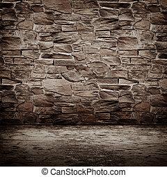 壁, 型, 石