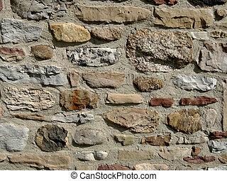 壁, 基礎, 岩