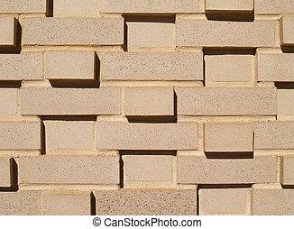 壁, 多層, れんが