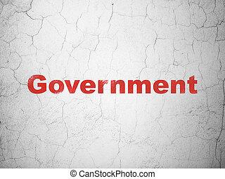 壁, 政治, concept:, 背景, 政府