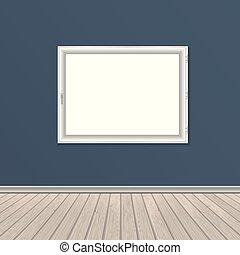 壁, 木製である, 窓, 床