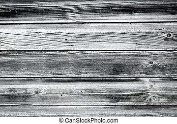 壁, 木, 古い, 背景
